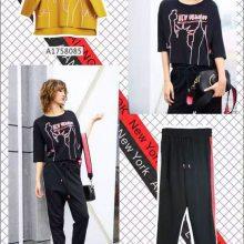 广州一线品牌 万古汇 艾利欧 艾安琪 时尚秋装 品牌库存女装一手货源批发走份