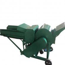 干湿两用 玉米秸秆粉碎机 自动进料秸秆牧草揉丝机
