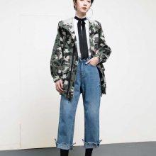 【珞炫】专柜品质秋装时尚优雅女装风衣外套连衣裙货源进货渠道