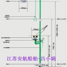 定制环氧树脂涂层洗眼器,复合双防型冲淋器BH30-1011