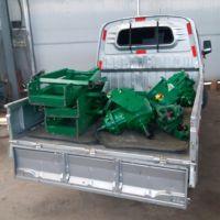 拖拉机三点悬挂式挖坑机 栽树传动轴挖坑设备