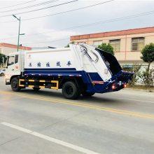 后装式挂桶垃圾车 移动压缩垃圾车钩臂垃圾车报价