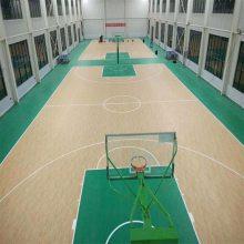 厂家直销 PVC运动地胶 室内运动地板 羽毛球球场 网球球场 篮球场