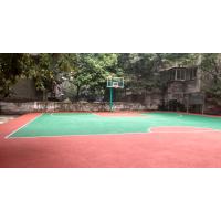 自贡鸿瑞铠校园篮球场批发