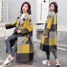 双面羊绒大衣 品牌折扣女装 库存尾货批发货源 厂家一手货源