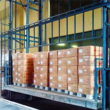 定制加工 四柱升降货梯 固定式货物提升机 大吨位载货电梯