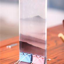 特种夹丝玻璃 夹丝夹绢玻璃直销工厂 誉华夹丝玻璃定制生产