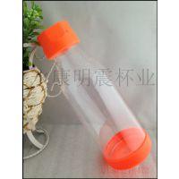 透明汽水瓶创意水杯杯子个性茶杯新款塑料运动水瓶批发定制