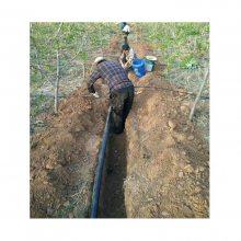 农业大田灌溉63 75 90地埋式滴灌管批发价格便宜