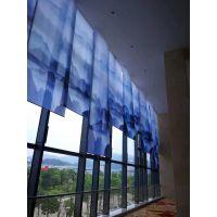 北京窗帘定做电动窗帘盈创隔热卷帘阻燃帘