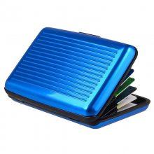 RFID卡包防盗刷 rfid防磁卡套 屏蔽nfc信号保护银行卡夹 卡盒卡包