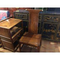 新中式老榆木家具定制 新中式太师椅家具定制 新中式咖啡厅家具定制 新中式官帽椅家具定制