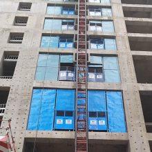 镀锌钢管安全门价格-内蒙古镀锌钢管安全门-景丰建筑