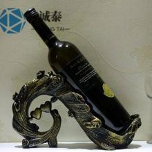 创意红酒摆件定制, 客厅摆件装饰品制作,广东定制欧式红酒架