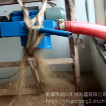多功能收谷装袋机 水泥颗粒多用吸料机 润众