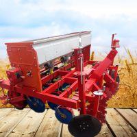 亚博国际真实吗机械生产多行蔬菜播种机 玉米小麦精播机 拖拉机带动精播机价格