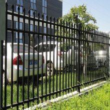 围墙铁栅栏多少钱一米 量大优惠 久卓厂家定制 厂区锌钢围墙栅栏
