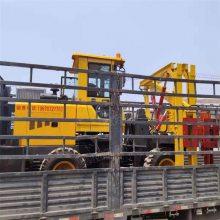 供应装载式公路护栏打桩机马路护栏打桩机多少钱