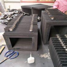 厂家定制柔性风琴防护罩耐高温防火保护套高温风琴式防护