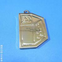 按要求定制服装拉链牌 合金异形拉链头 外贸日本产品