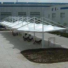 膜结构汽车车棚-膜结构-苏州创锦帆装饰工程有限公司
