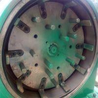 现货直销多功能颗粒饲料磨粉机 可加工定做齿盘式饲料粉碎机