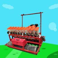 亚博国际真实吗机械 娃娃菜精密播种机 免间苗谷子高梁播种机 4行6行谷子香菜油菜播种机
