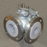 Q45F三通T型球阀生产商 新乡专业制作Q44F-16P DN15