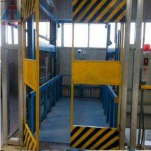 吉安供应链条式升降货梯 航天牌 室外壁挂式液压升降平台 流水线升降机 液压结构平稳耐用