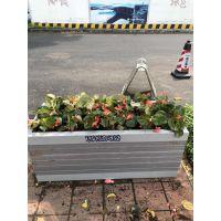 专业定制PVC塑木市政花箱FX-061