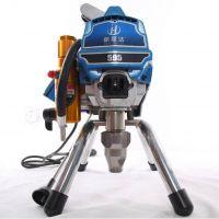 495/595高压电子调压无气喷涂机钢结构油漆乳胶漆涂料喷涂机