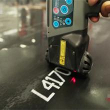 喷码二维码,连接扫描枪,可打5.4公分手持喷码机
