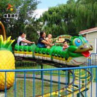 孩子们的乐趣青虫滑车童星厂家现货销售中欢迎洽谈