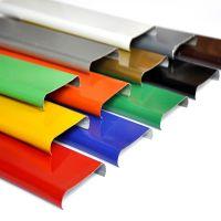 防风铝条扣 厂家定做条形铝扣板吊顶天花规格 加油站 商场专用