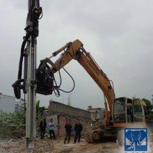 用挖机改装的潜孔钻机 用勾机改装的潜孔钻机 SH专业挖机改钻