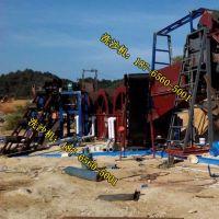浙江小规模轮式洗沙机生产线 浙江洗沙机种类齐全 洗沙机信息