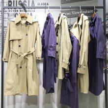 广州高端大码女装 第五朵羽绒服 高端精品女装折扣价 广州一手女装货源批发