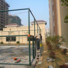 厂家供应学校运动场防护网 绿色喷塑篮球场围网操场围网球场体育场围网
