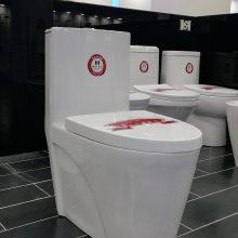 广东智能座便器工厂生产批发漩冲式节水马桶,陶瓷工程坐便器