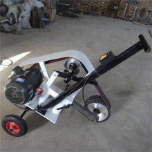 手推车砂带机 钢板除锈除氧化皮 钢板抛光 钢板焊缝打磨 砂带目数的选择