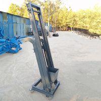 养殖场牛粪装车单斗提升机 自动翻卸式污泥提升机