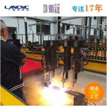 龙门式数控火焰等离子切割机 17年规模生产厂家 武汉蓝讯