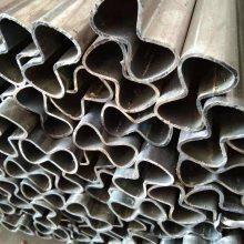 山东聊城厂家定做镀锌8字钢管 各种冷挤压异型钢管 来图定做