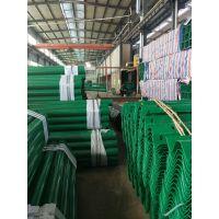 宁夏国标600g镀锌喷塑波形护栏价格 银川 Q235材质乡村公路波形护栏安装多少钱