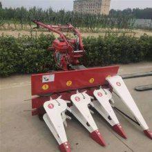 安徽小四轮带玉米杆割倒机 拖拉机带玉米秸秆收割机 宇佳农用割晒机厂家
