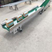 有角度流水线输送机全封闭食品专用输送机ljxy