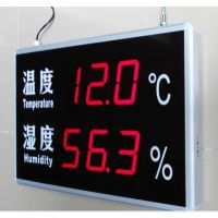 上海发泰LED温湿度显示屏,大屏幕壁挂吊挂温度湿度看板