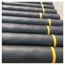 四川土工格栅价格沥青路面塑料土工格栅农村养殖用网土工布