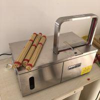 木箱包装电动捆扎机 小型全自动绑香机 线香自动扎捆机设备鲁强机械