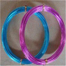 彩色工艺铝线,彩色氧化铝线多种颜色可选